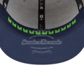 Seattle Seahawks New Era  2018 NFL Draft Official On-Stage 9FIFTY Snapback Adjustable Hat - Heather Gray/Navy