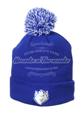 Picture of Zephyr Saint Louis Billikens Blue Cuff Pom Mens Knit Hat