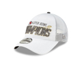 Picture of Men's Kansas City Chiefs New Era White Super Bowl LIV Champions Locker Room 9FORTY Adjustable Hat
