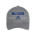 Adidas St Louis Blues Cotton Slouch Adjustable Hat - Grey