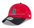 St. Louis Cardinals New Era 2018 Batting Practice  9TWENTY Adjustable Hat - Red/Navy
