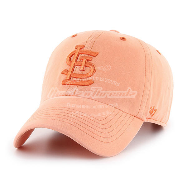 '47 Brand St. Louis Cardinals Outboard Clean Up Adjustable Hat (Orange)