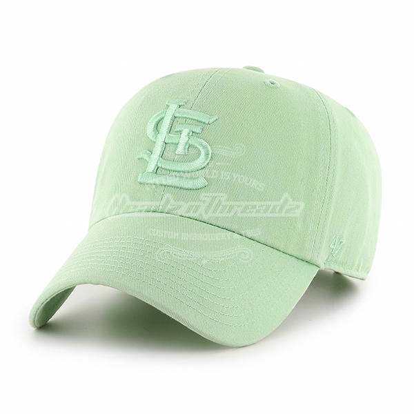 47 Brand St. Louis Cardinals Boathouse Hemlock Cleanup Adjustable Hat (Light Green)