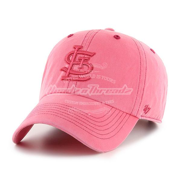 47 Brand St. Louis Cardinals Boathouse Rudder Red Cleanup Adjustable Hat (Rudder Red)