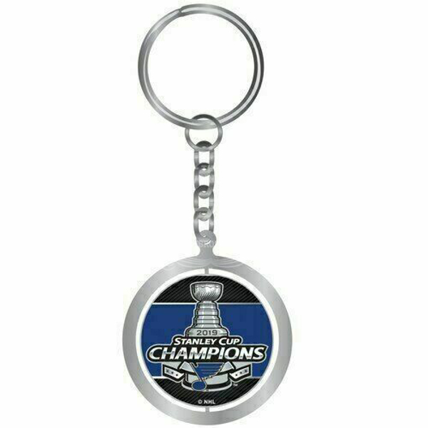St. Louis Blues 2019 Stanley Cup Champions Spinning Keychain