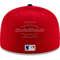 Men's Texas Rangers New Era Red/Royal 2020 Alternate 3 Authentic Collection On Field 59FIFTY Fitted Hat