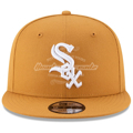 Chicago White Sox New Era Basic 9FIFTY Adjustable Hat - Tan