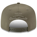 Men's Chicago Cubs New Era Olive Basic 9FIFTY Adjustable Snapback Hat