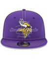 New Era Minnesota Vikings Purple 2019 NFL Sideline Road Official 9FIFTY Snapback Adjustable Hat SAVE