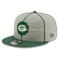 New Era - Green Bay Packers 2019 9-50 Onfield Sideline Home Flatbill Snapback Adjustable Hat